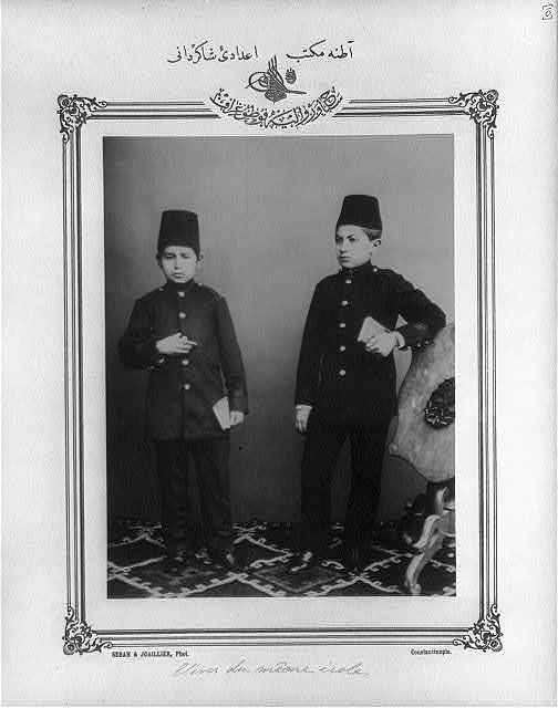 [Students, high school, Adana] / Sebah & Joaillier, Phot., Constantinople.
