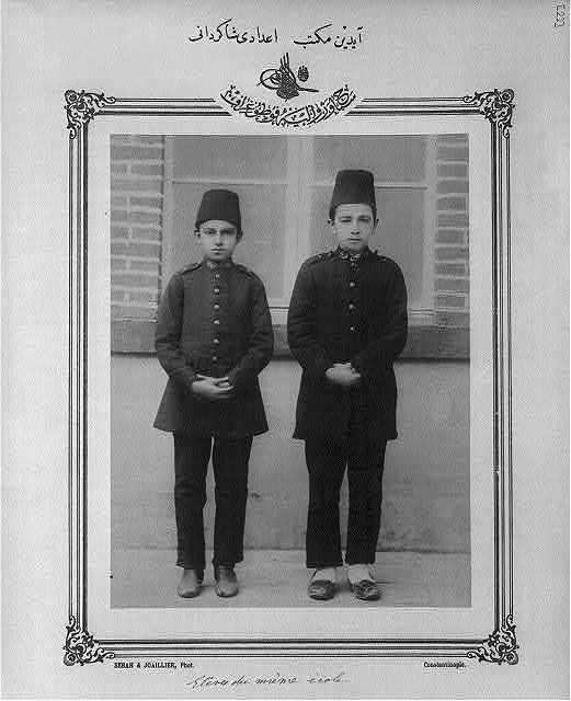 [Students, high school, Aydın] / Sebah & Joaillier, Phot., Constantinople.