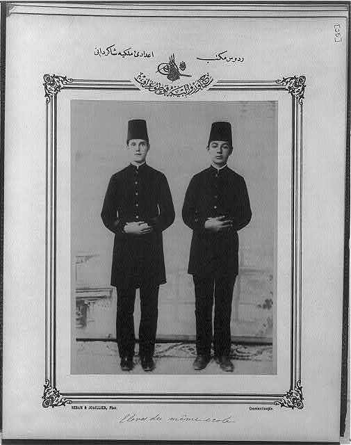 [Students, High School, Rhodes] / Sebah & Joaillier, Phot., Constantinople.
