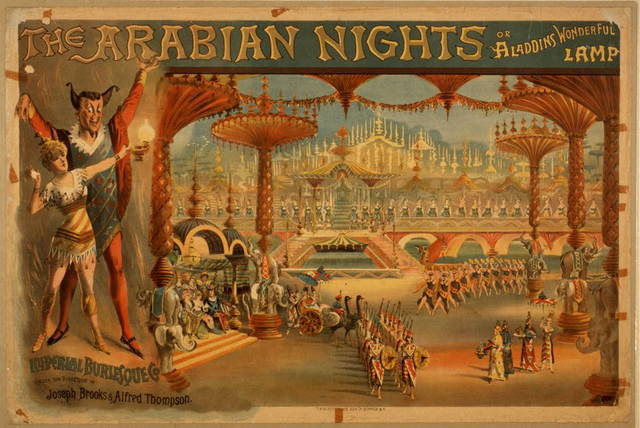 The Arabian nights, or Aladdin's wonderful lamp