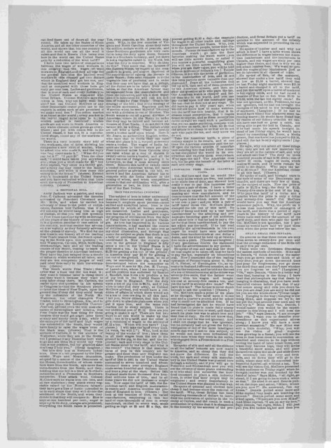 The tariff question. The McClure-Cooper debate. Reply of State Chairman Cooper to the speech of Colonel A. K. McClure. [Oct.1888].