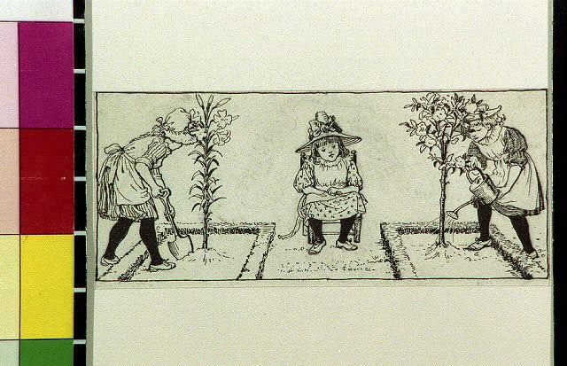Three gardens