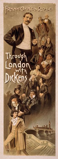 Through London with Dickens