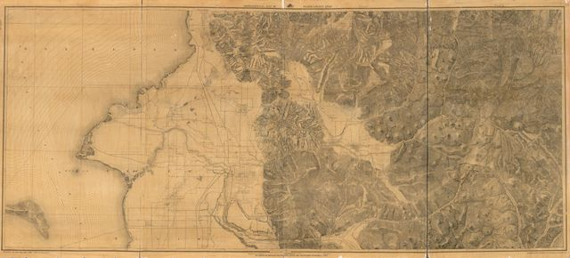 Topographical map of Weber County, Utah : surveys of 1884, 1885, 1886 & 1887 /