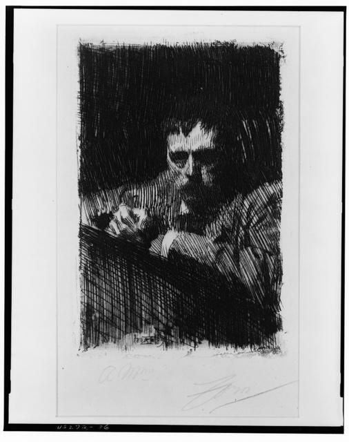 [A painter-etcher, Zorn]