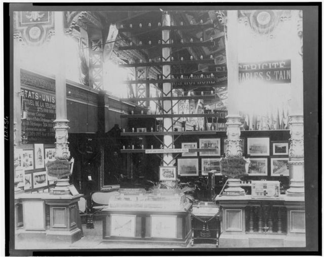 American Bell Telephone Co. and Western Electric Co., Exposition Universelle, Paris, 1889