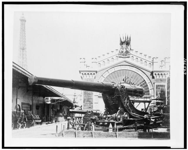 [Cannons at the Paris Exposition, 1889]