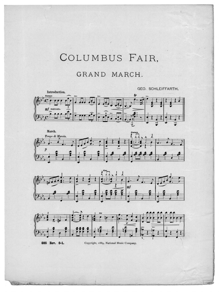 Columbus fair grand march