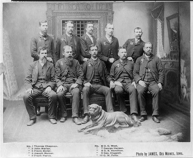 Constables the Des Moines Searchers and Advance Guard of the Fighting Prohibition Army.