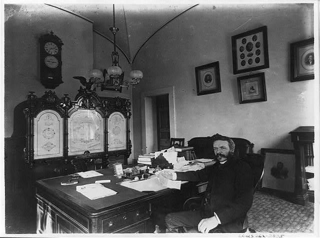 Don M. Dickson - Postmaster General, 1887-1889