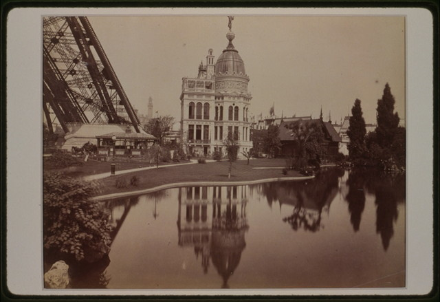 Exposition universelle de 1889--Pavillon de l'industrie du gaz / ND Phot.