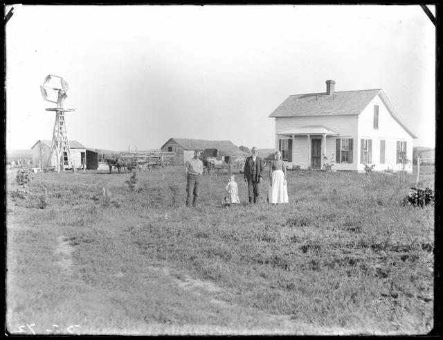 Farm scene, Custer County, Nebraska.