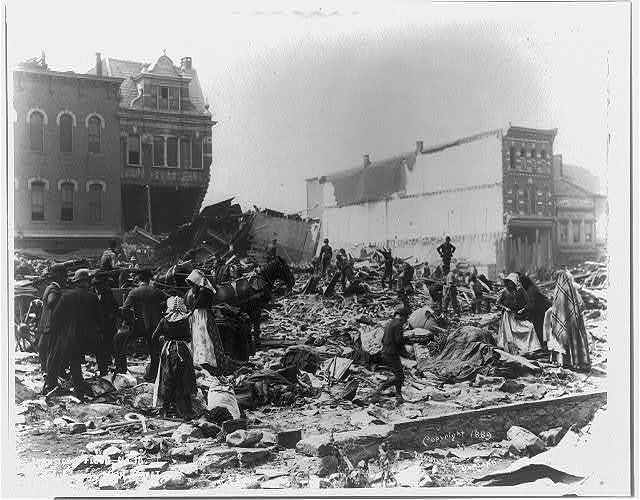Johnstown Flood, 1889: Looking down Main St. #18