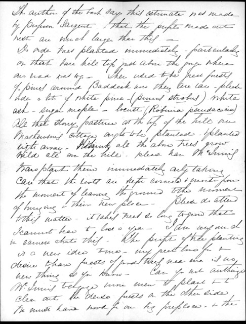 Letter from Mabel Hubbard Bell to Alexander Graham Bell, April 21, 1889