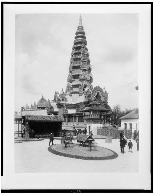 [Pagoda of Ankor, Paris Exhibition, 1889]