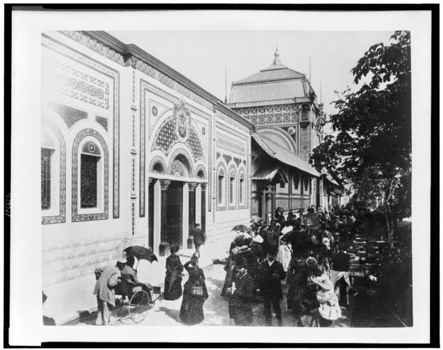 [Palace of Serbia, Paris Exposition, 1889]