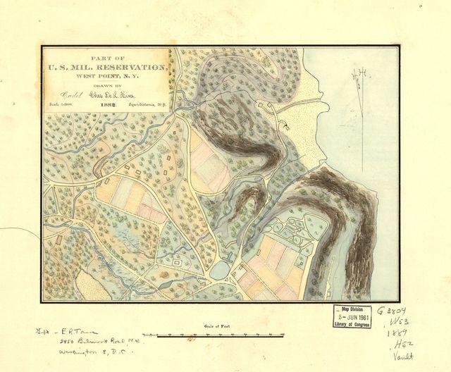 Part of U.S. Mil. Reservation, West Point, N.Y. /