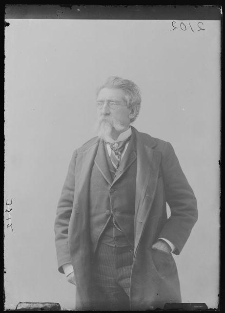 [Photographer Mathew B. Brady, three-quarter length portrait, facing front]