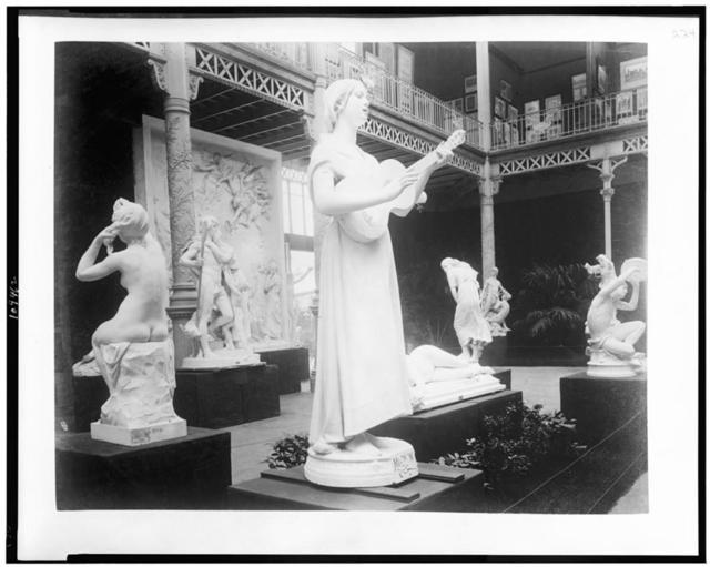 [Sculpture exhibited in Palace of Fine Arts, Paris Exposition, 1889]