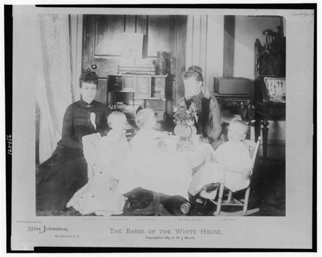 The babes of the White House / photographed by Miss Johnston, Washington, D.C.