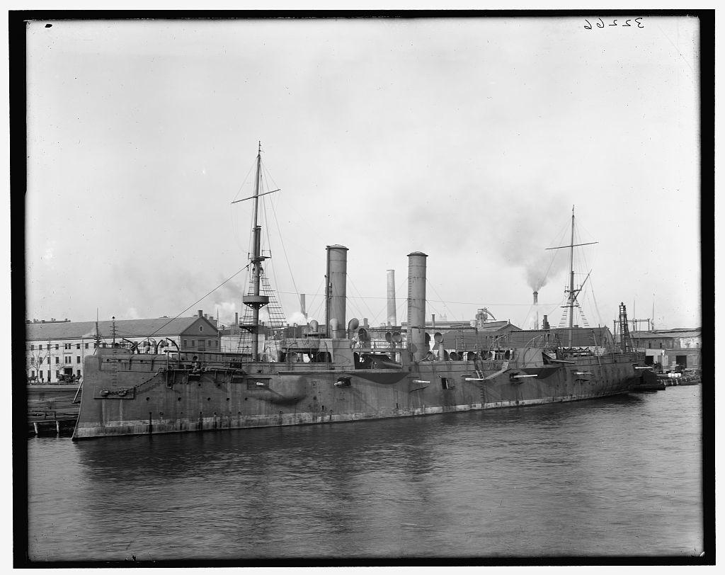 [U.S.S. Chicago at Brooklyn Navy Yard]
