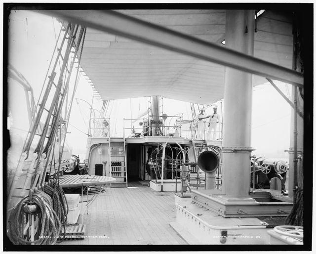 U.S.S. Petrel, quarter deck