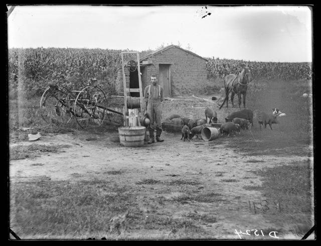 Watson, north part of Custer County, Nebraska.
