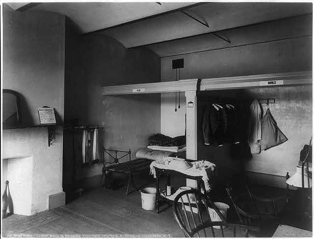 [West Point: Cadets' room in barracks]