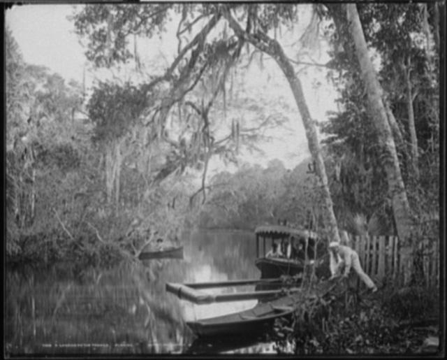 A Landing on the Tomoka, Florida