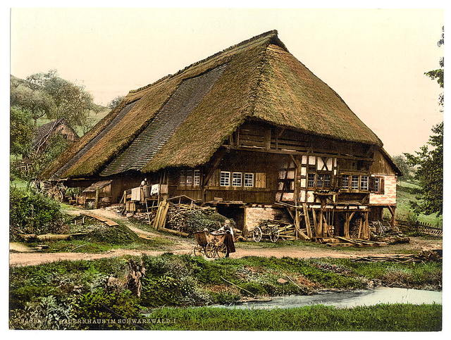 [A Peasant's house, Black Forest, Baden, Germany]