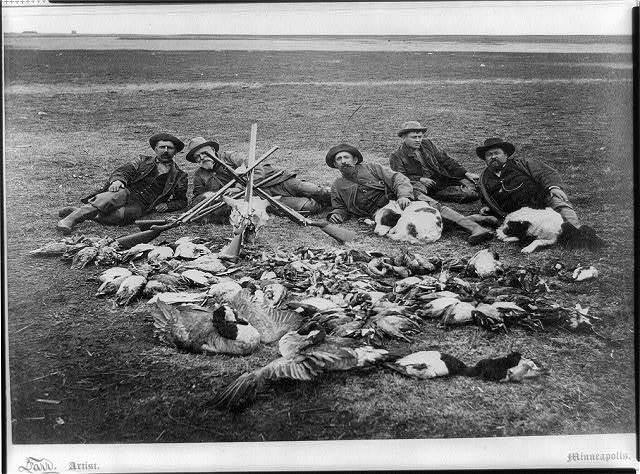 A prairie exhibition in Dakota