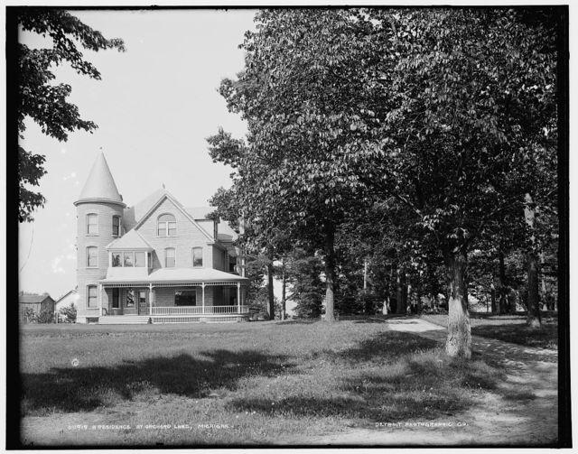 A Residence at Orchard Lake, Michigan
