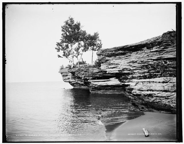 A Rocky point, Pointe aux Barques