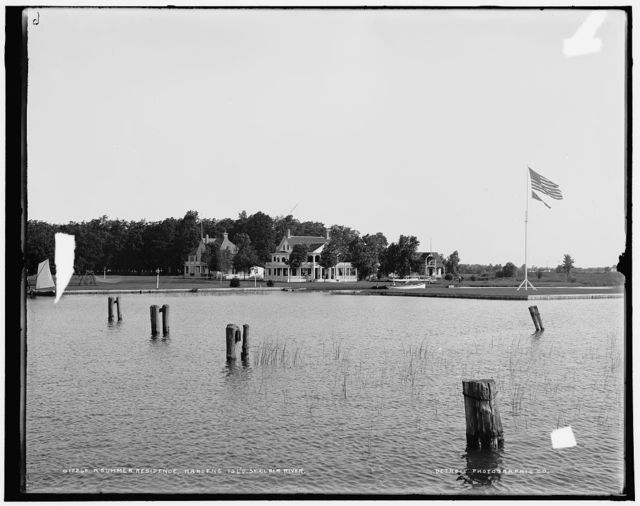 A Summer residence, Harsens Isl'd., St. Clair River