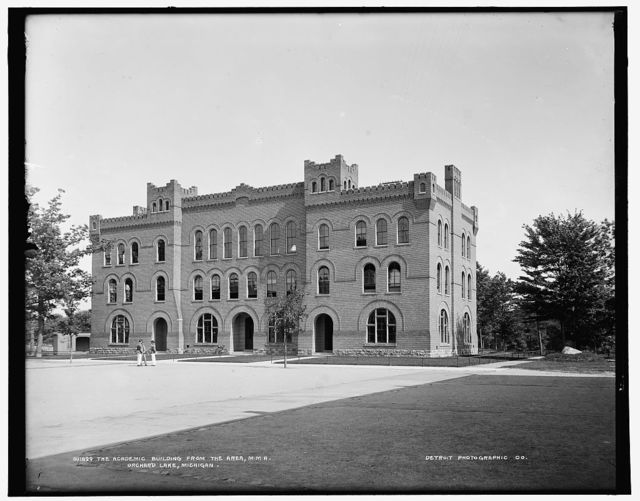 Academic building from the area, M.M.A., Orchard Lake, Michigan