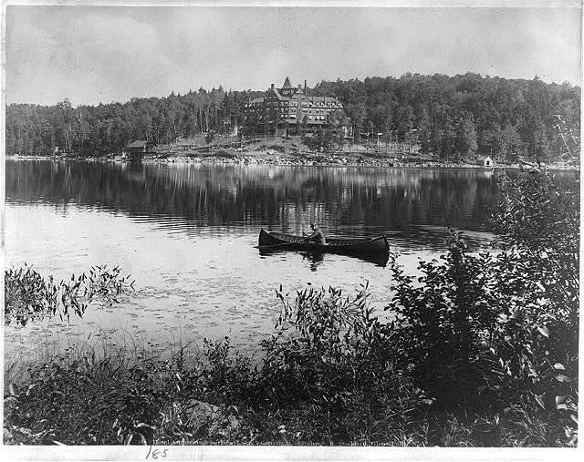 [Adirondack Mountains, N.Y.]: Hotel Ampersand, Saranac Lake