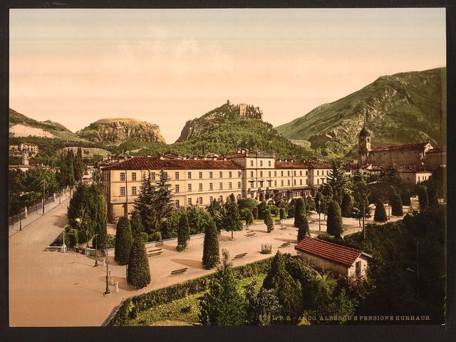 [Albergo, general view, Arco, Lake Garda, Italy]