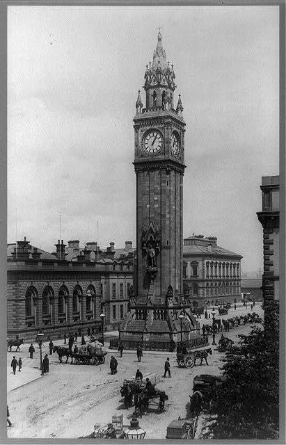 [Albert Memorial Clock Tower, Belfast, Ireland]