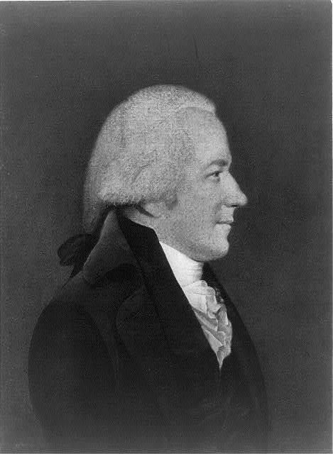 [Alexander Hamilton, 1757-1804, half-length portrait, facing right]