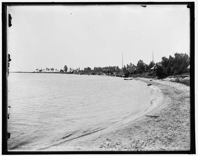 Along the shore at Harbor Beach