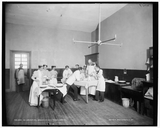 An Operation, Brooklyn Navy Yard Hospital