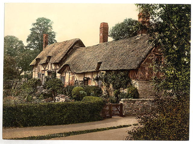[Ann Hathaway's Cottage, Stratford-on-Avon, England]