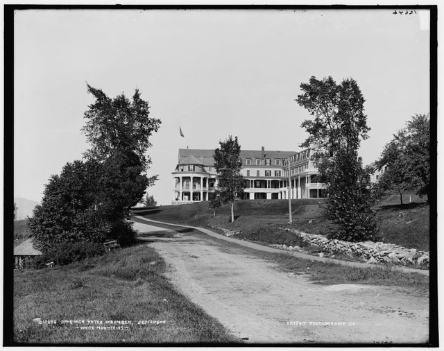 Approach to the Waumbek, Jefferson, White Mountains