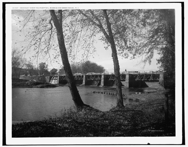 Aqueduct over the Pompton, Morris and Essex Canal, N.J.