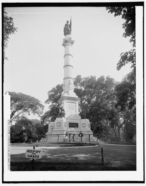 Army and Navy Monument, Boston, Mass.