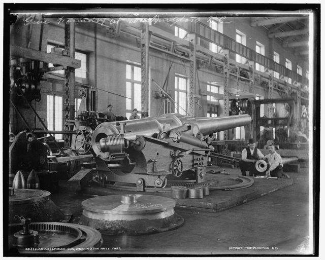 Assembled gun, Washington Navy Yard, An