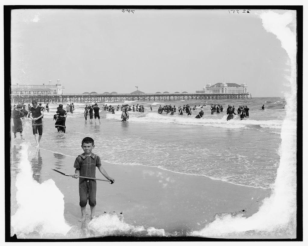 [Atlantic City, N.J., the beach]