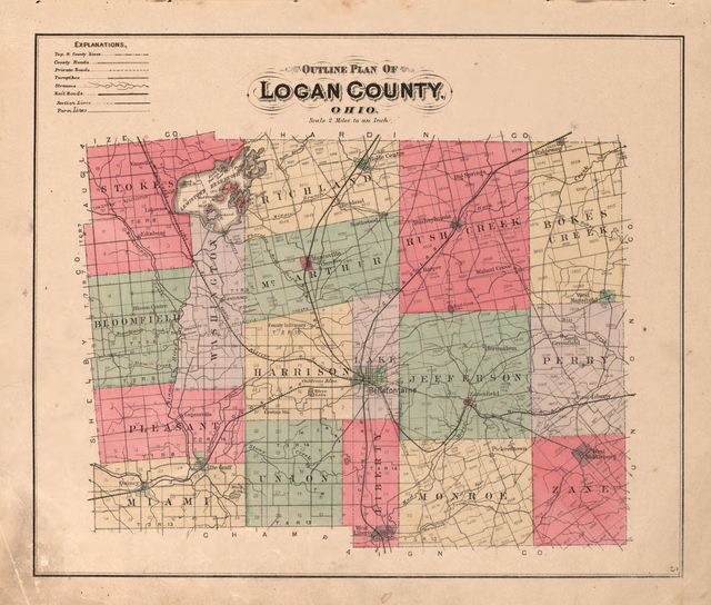 Atlas of Logan County, Ohio /