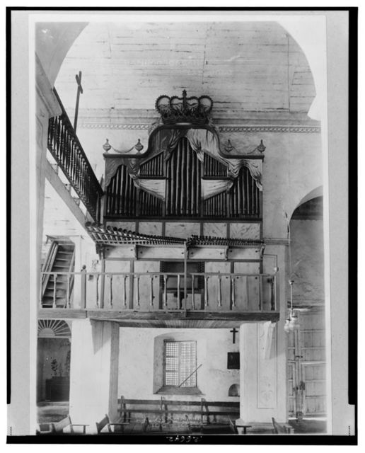 [Bamboo organ in church, Las Piñas, Luzon Island, Philippines]