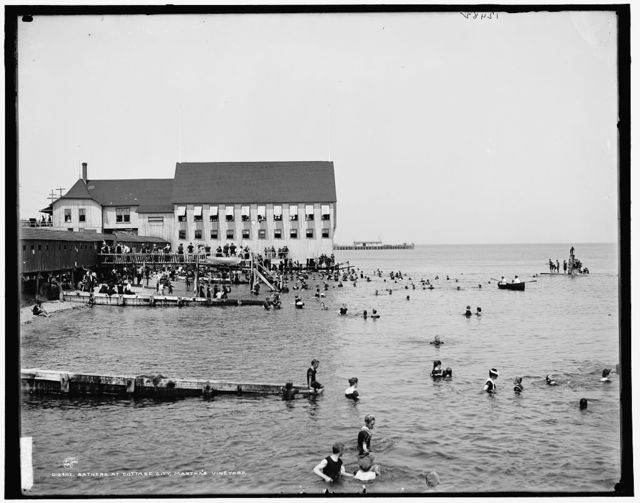 Bathers at Cottage City, Martha's Vineyard
